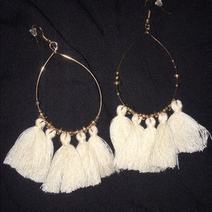 Fringe earrings- no tags but new in package